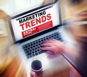 Marketing Trend Laptop